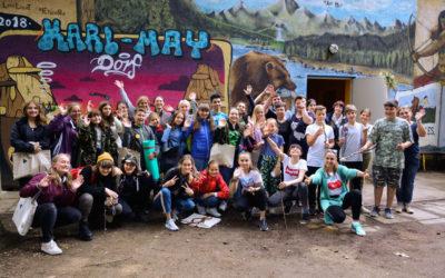 Feriencamp in Karl-May-Dorf (Moritzburg), Juli 2019