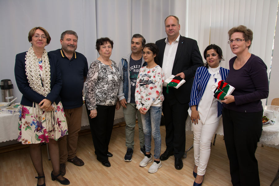 Oberbürgermeister der Landeshauptstadt Dresden besucht Kolibri e.V.