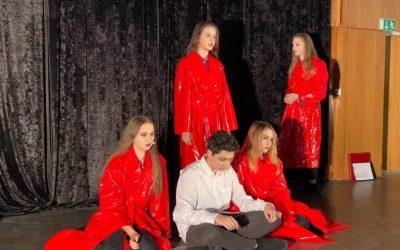Briefe aus der Drogenhölle: Schauspiel im Dresdner Volkshaus, 8.12.2019