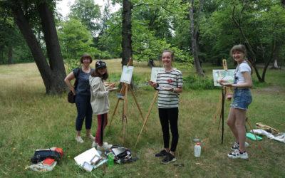 Sommerferien – 2020 mit Pleinair