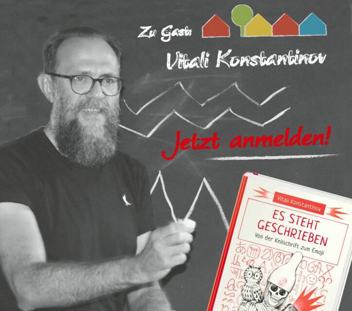 Digitale Lesung mit Vitali Konstantinov, Dezember 2020