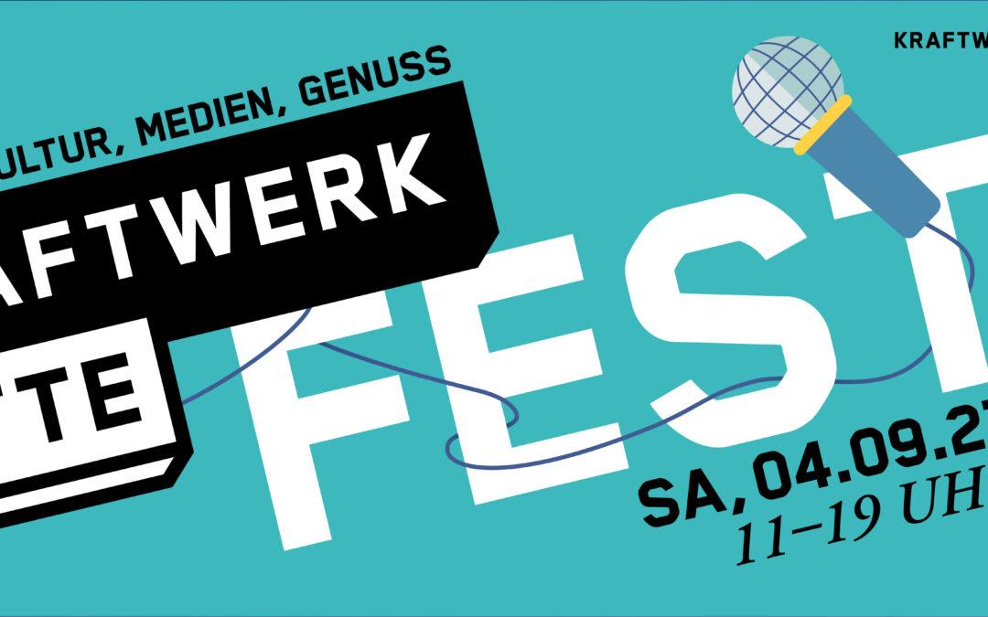 Kraftwerk Mitte Fest: 4. Runde am 04.09.21