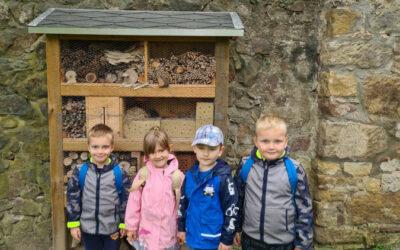 Kinderclub erforscht Natur im Herbst