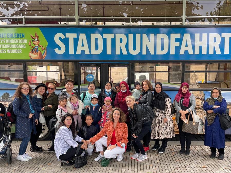 Frauentreff : eine schöne Fahrt durch Dresden