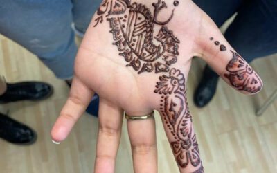 Geschichte der Henna, ein internationaler Nachmittag