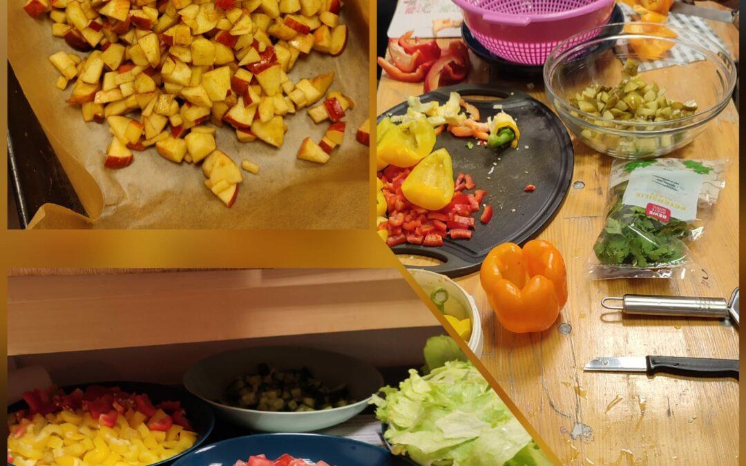 Gemeinsam gekocht & gegessen im Jugendclub (IKT-Veranstaltung)